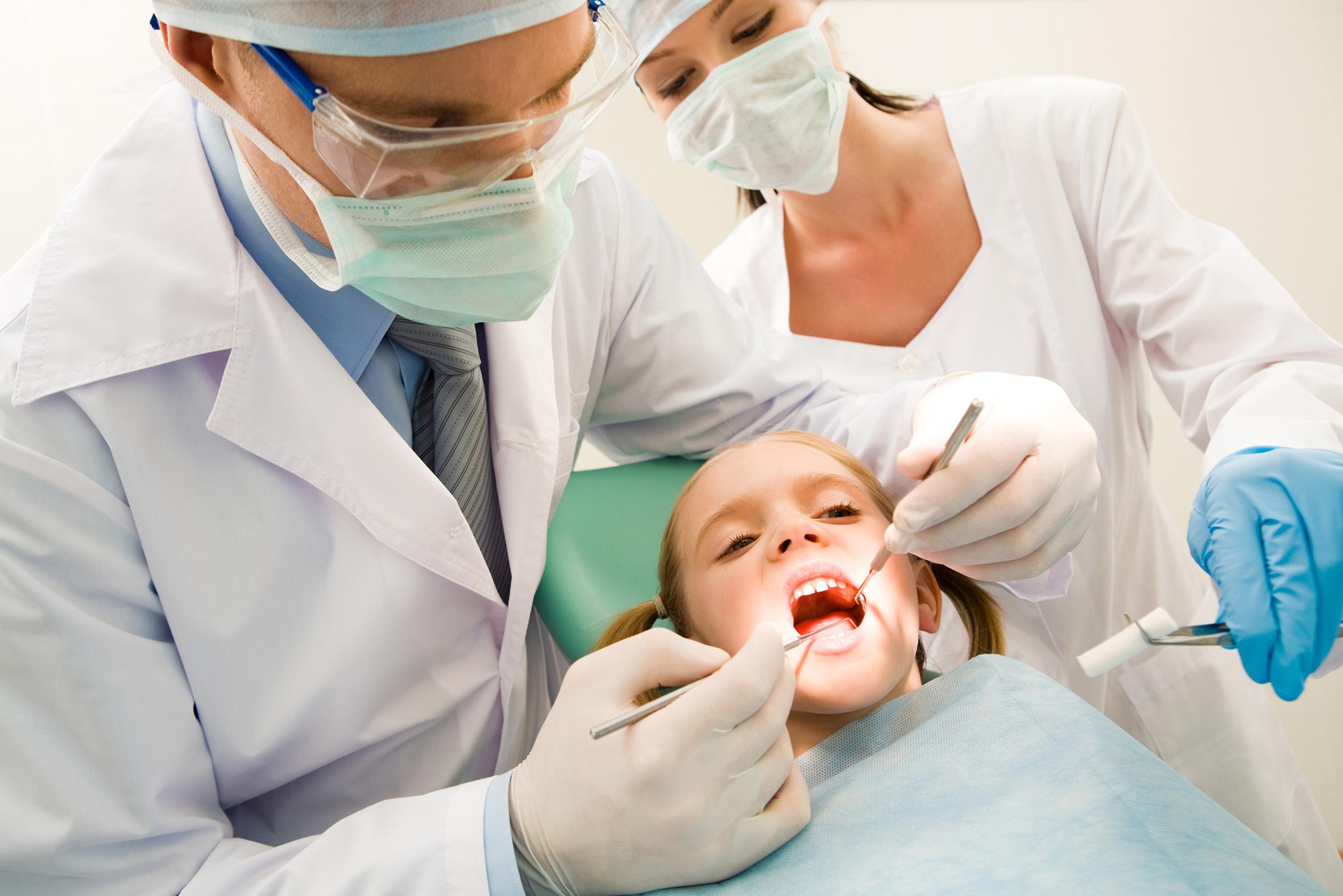 Хирургия в детской стоматологии