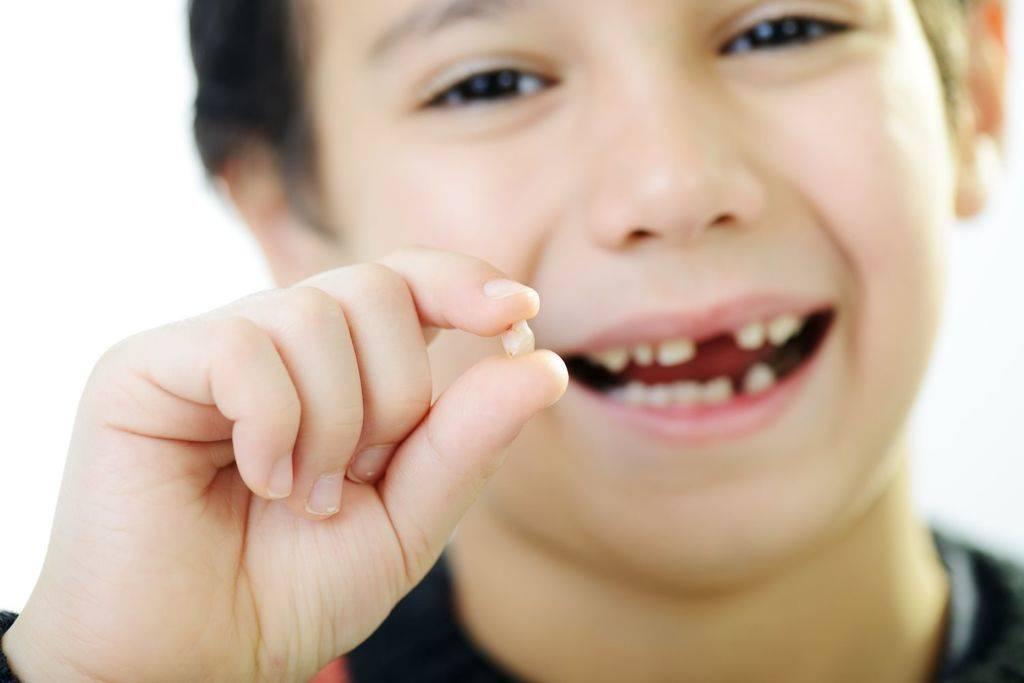 удаления зубов у ребенка